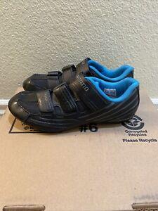 Shimano Dynalast Women's Black Cycling Bike Shoes US 8.5 EU 41 SH-RP200 WL