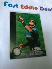 1996 DONRUSS MLB BASEBALL ALEX RODRIGUEZ CARD 24 SEATTLE MARINERS EXCELLENT