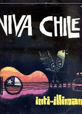 INTI-ILLIMANI viva chile HOLLAND EX LP 1976