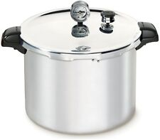 Pressure Cookers XL Canner Stainless Steel Aluminum Valve 23 Qt Cookware