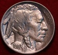 Uncirculated 1914-S San Francisco Mint Buffalo Nickel