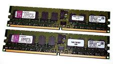 4 GB DDR2-RAM-Kit (2 x 2GB) Registered ECC PC2-3200R 'Kingston KTM2865SR/4G'