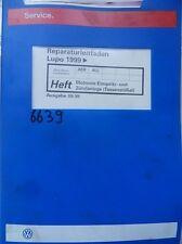Werkstattbuch Reparaturleitfaden VW Lupo Motronic Einspritz-und Zündanlage #6639