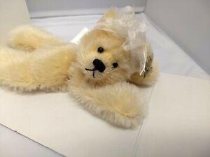Annette Funicello Collectible Bear Ambearetto Ice Mohair, NIB **COA #2457/3000**