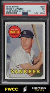 1969 Topps Mickey Mantle #500 PSA 5 EX (PWCC-E)