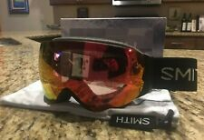 I/O MAG S Smith Goggles, Black, ChromaPop Photochromic Red Mirror