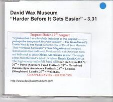 (EX335) David Wax Museum, Harder Before It Gets Easier - DJ CD