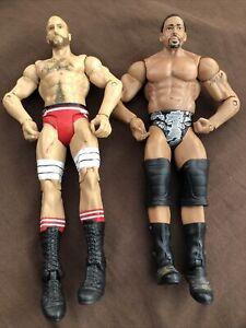 2011 WWF WWE Mattel David Otunga & Antonio Cesaro Wrestling Figure Lot Of 2