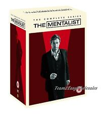 Brand New The Mentalist: The Complete Series (DVD, 2015, 34 Disc) Season 1-7