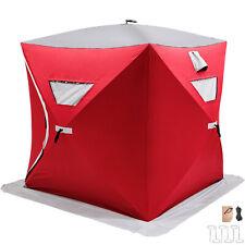 3 Mann Angelzelt Zelt Dome Tent Zubehör Angelsport Tragbar Quick Shelter