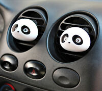 2X Decor Auto Dashboard Air Freshener Blink Panda Perfume Diffuser For Car SK