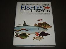 1976 THE FRESH & SALT WATER FISHES OF THE WORLD BOOK BY EDWARD MIGDALSKI - I 764