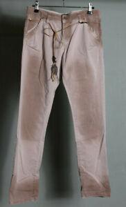 Please Jeans Damen Hose Denim Gr. S rosé