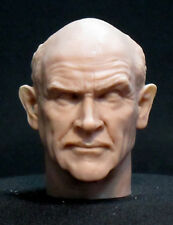"CUSTOM  SEAN CONNERY RESIN  HEAD SCULPT, Action figures 1/6 scale 12"" A-74"