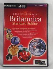 Encyclopedia Britannica 2005 Standard Edition PC MAC Software Learning 2 Cd Set