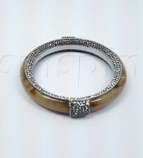 GORGEOUS Michael Kors Retail Exclusive Pave Glam Horn Bangle Bracelet MKJ1794040