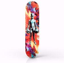 Skateptych Schoony Prismatic Bruiser Art Skateboard Deck like Supreme Kaws skate