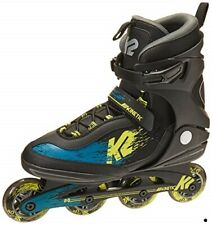K2 Skate Men'S Kinetic 80 Inline Skate Black/Green/Yellow 10