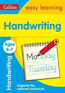 Handwriting Ages 5-7: Prepare for sc by Collins Easy Learning New Paperback Book