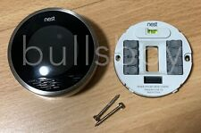 Nest Learning Programmable Thermostat 1st Generation Silver USED Model 01A