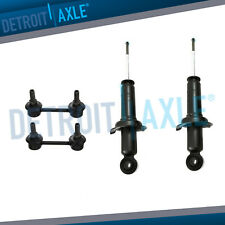 Rear Shocks Absorbers & Sway Bars 4pc Kit For 2004 -2010 2011 Mitsubishi Galant