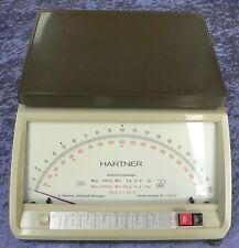 Briefwaage, analog, Fabrikat Hartner, 2 Messbereiche, geeicht, funktionsfähig
