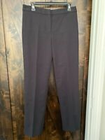 TALBOTS WOMENS PANTS BLACK SIZE 4 NWOT