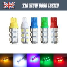 1/10 × T10 W5W 5050 13SMD LED luz lateral del coche cuña Interior Cuña Luz Bombilla 12V