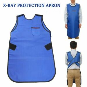 Dental Classical Lead Rubber X-ray Apron Vest Radiation Protection 0.35mmPb