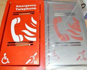 x2 Audix warehouse office factory Emergency Telephone Box