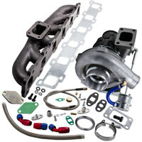 Exhausted manifold + Turbo turboloader Kit For Nissan Safari Patrol Oil Cooled