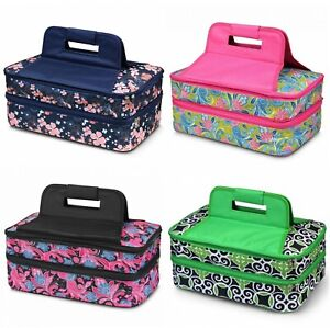 Double Thermal Expandable Insulated Large Hot Cold Lasagna Pan Casserole Carrier