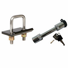 StowAway Hitch Tightener W/Hitch Lock Combo Anti Wobble No Rattle Stabilizer