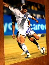Steven Gerrard Los Angeles Galaxy Autographed 11x14 Photo    COA