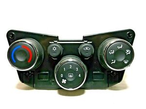 15-16  CHEVROLET SONIC MANUAL / TEMPERATURE/ CLIMATE/ CONTROLS/W/O HEATED SEATS
