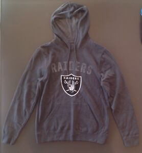 Majestic  Oakland Raiders Hoodie Jacket Medium- NWOT