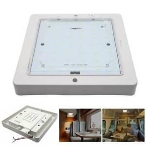 12V Weiß LED Innenraumleuchte Beleuchtung LED Deckenlampe Wohnmobil Wohnwagen