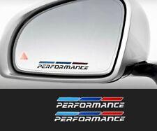 BMW SIDE MIRROR M STRIPE STICKERS EMBLEM 1 3 4 5 7 X3 X5 SERIES F30 F10 M3 M4 M5