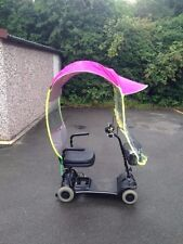 Mobility Scooter Sun & Rain Cover Universal PINK in Colour