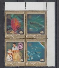 TIMBRE STAMP  4 ILE PENRHYN Y&T#222-25 CARTE CORAIL NEUF**/MNH-MINT 1983 ~B41