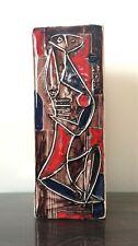 Marcello Fantoni Florence Italy  Large Cubist Vase