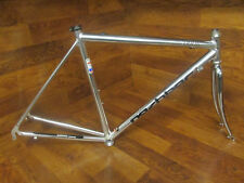 VINTAGE NASHBAR 7000R POLISHED KINESIS ALLOY ROAD BIKE FRAME SET 54