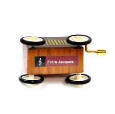 Frère Jacques - Manivelle Boîte à musique - Vielle à ROUE sur roues