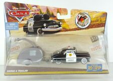Sheriff & Trailer Diecast Disney Pixar Cars Carburetor RD Tr1p Factory Error F2