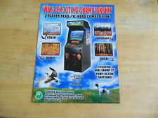 WING SHOOTING    ARCADE GAME  FLYER