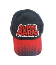 Super Mario Embroidered Youth Adjustable Hat 2017 Target Nintendo Blue and Red