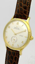 ZENITH CHRONOMETER in 18ct GOLD - LIMITED EDITION No. 221/300 - von 1997 + Pap.