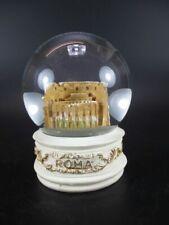 ROM Colosseum Snow Ball Collosseum Roma Italy Souvenir Snowglobe