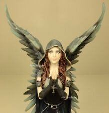 Anne Stokes Harbinger Dark Angel of Death Gothic Fairy Statue Hand Painted
