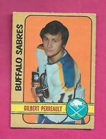 1972-73 OPC  # 136 SABRES GILBERT PERREAULT EX  CARD (INV# C8966)